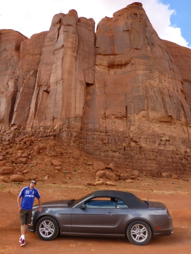 Off road monument valley