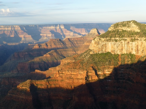 North rom grand canyon, sunrise
