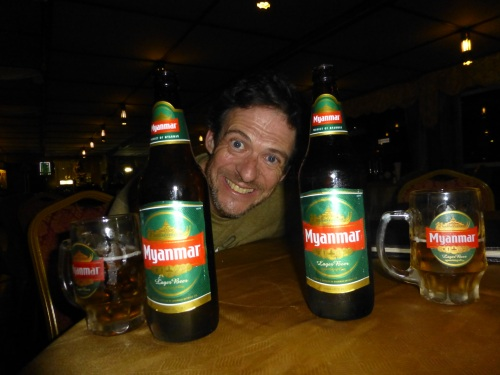 Maybe a few too many Myanmar beers