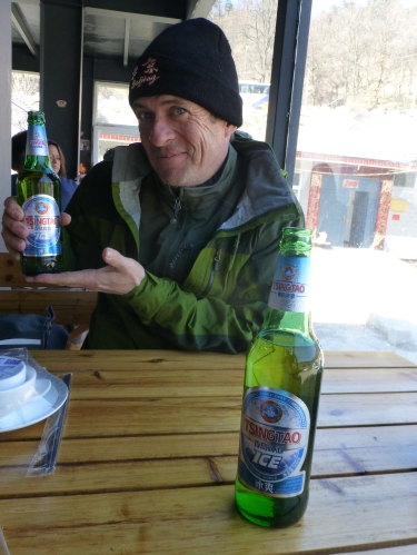 Tinssao ice beer. China.