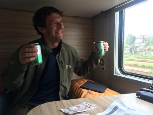 Overnight train to Hanoi